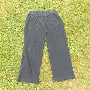 Columbia Black Fleece Pants Joggers Size XL